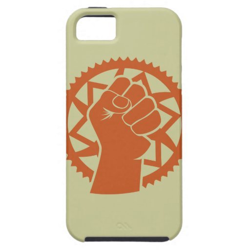 Revolución del poder de Chainring iPhone 5 Protector