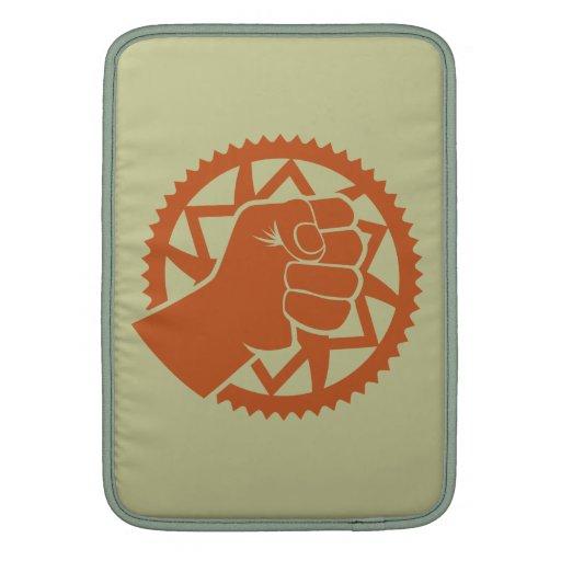 Revolución del poder de Chainring Funda MacBook