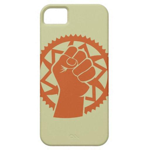 Revolución del poder de Chainring iPhone 5 Fundas