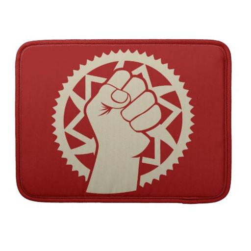 Revolución del poder de Chainring Fundas Macbook Pro