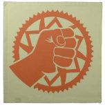 Revolución del poder de Chainring Servilleta