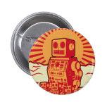 Revolución del robot pin redondo 5 cm