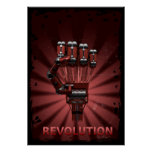 Revolución del robot poster