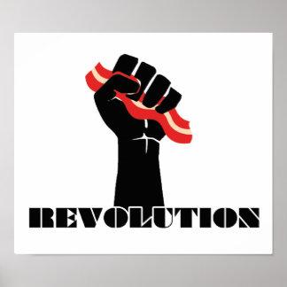 Revolución del tocino poster