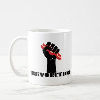 Revolución del tocino para los Righties Taza