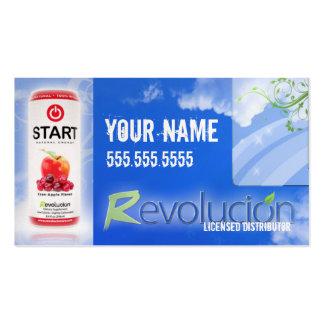 REVOLUCION Distributor Business Card