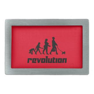 Revolución Hebillas Cinturon Rectangulares
