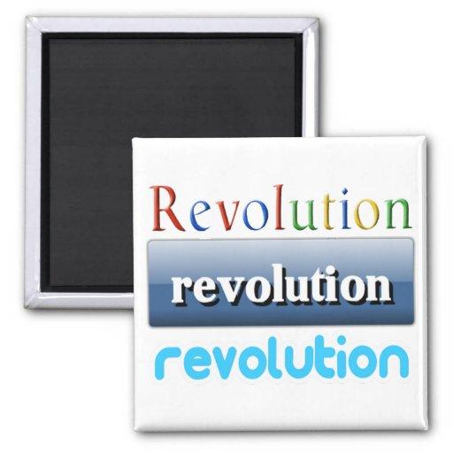 revolución imán cuadrado