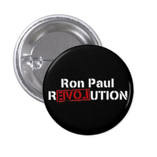 revolución inversa de Ron Paul Pin Redondo De 1 Pulgada