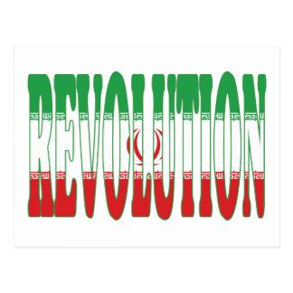 Revolución iraní postal