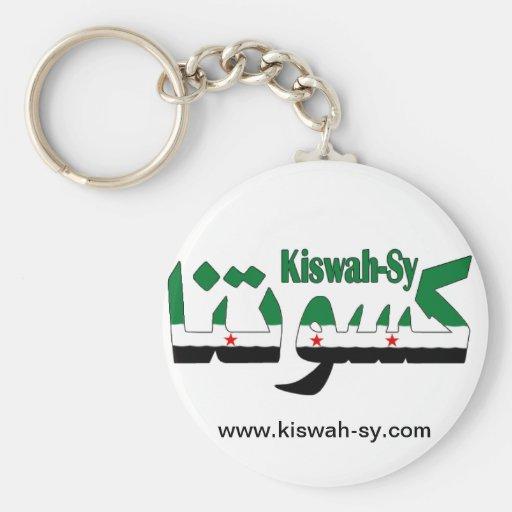 revolución kiswah-sy llavero redondo tipo pin