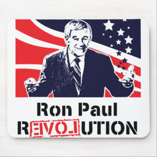 Revolución Mousepad de Ron Paul