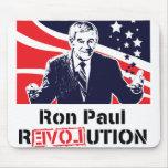 Revolución Mousepad de Ron Paul Tapetes De Ratón