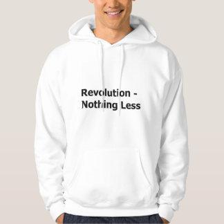Revolución nada sudadera con capucha less-