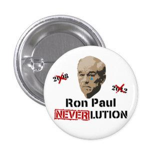 Revolución Neverlution de Ron Paul 2012 Pins