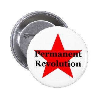 Revolución permanente pin redondo 5 cm