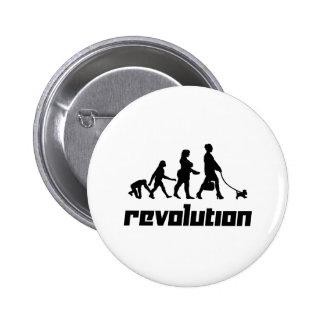 Revolución Pin Redondo De 2 Pulgadas