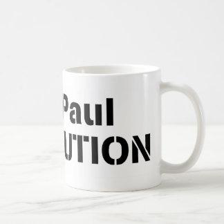 Revolución rosada Ron Paul Tazas
