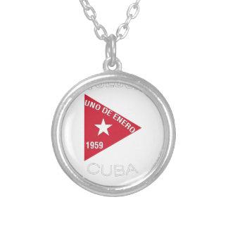 Revolución Silver Plated Necklace