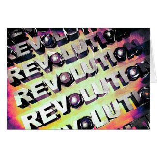 Revolución Tarjeta De Felicitación