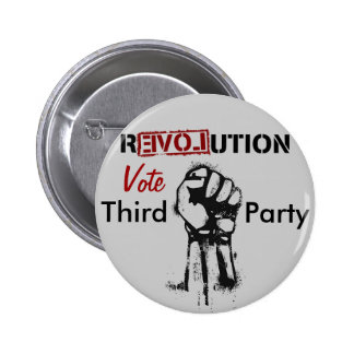 Revolución: Terceros Pin Redondo De 2 Pulgadas