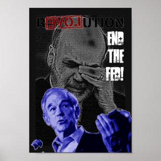 Revolución: ¡Termine el FED! Impresiones