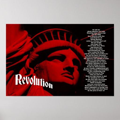 Revolución: Tributo de la guerra de Iraq Posters