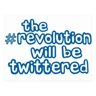 revolución twittered postal