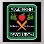 Revolución vegetariana posters