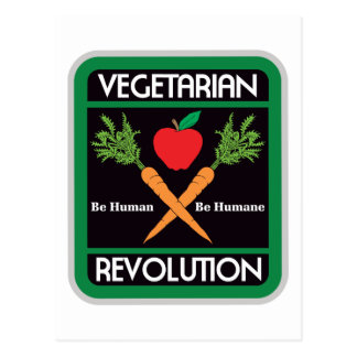 Revolución vegetariana postal