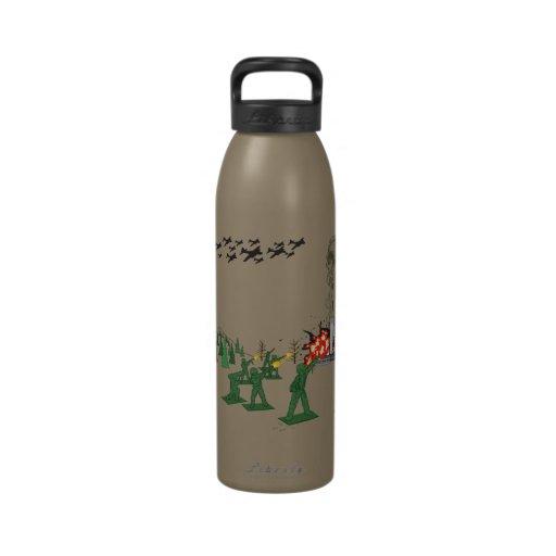 Revolución verde botella de agua reutilizable