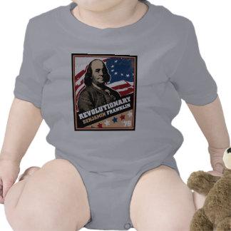 Revolucionario de Benjamin Franklin Camiseta
