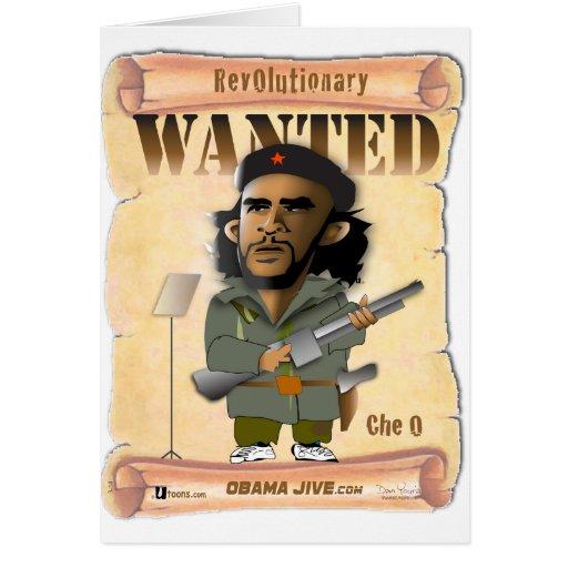Revolucionario de O Che Felicitaciones