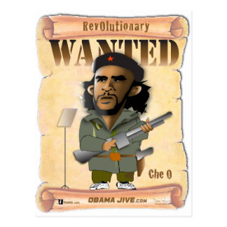 Revolucionario de O Che Postales