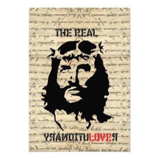 Revolucionario del Jesucristo Invitacion Personalizada