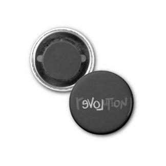 Revolution - Anti Social Refrigerator Magnet