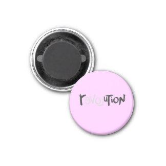Revolution - Anti Social Refrigerator Magnets