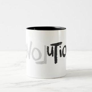 Revolution - Anti Social Two-Tone Coffee Mug