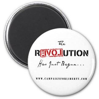 Revolution Button Magnets