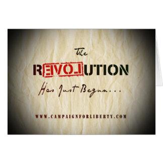 Revolution Card