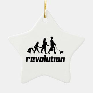 Revolution Ceramic Ornament