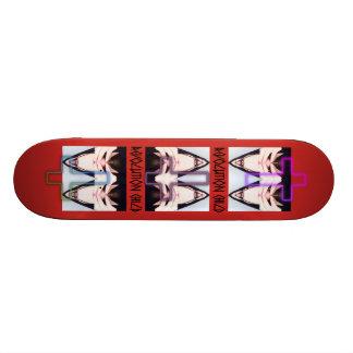 Revolution Child, Psycho' skateboard talk