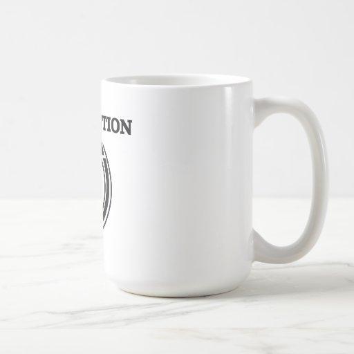 Revolution Classic White Coffee Mug