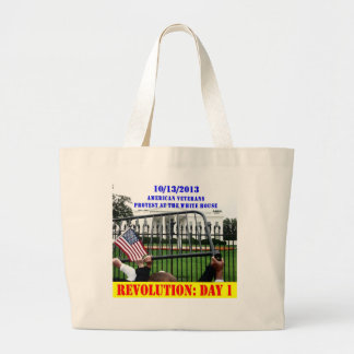 REVOLUTION: DAY 1 CANVAS BAGS