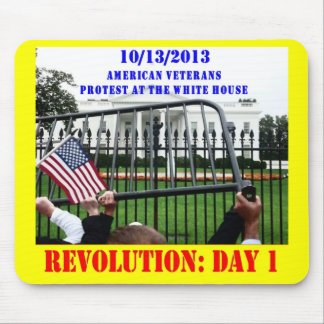 REVOLUTION: DAY 1 MOUSE PAD
