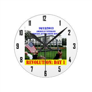 REVOLUTION: DAY 1 ROUND CLOCK