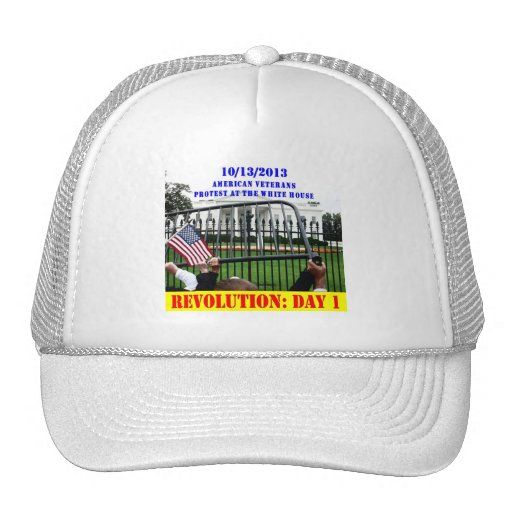 REVOLUTION: DAY 1 TRUCKER HATS