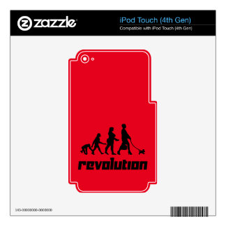 Revolution Decals For iPod Touch 4G