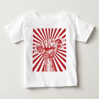 Revolution fist holding money concept shirts