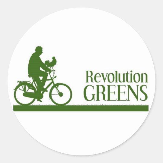 Revolution Greens Classic Round Sticker
